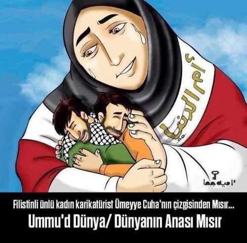 Mısır katliamının karikatürleri 8