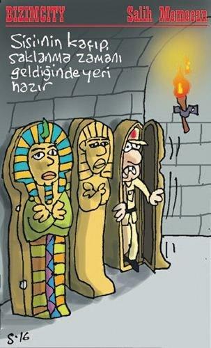 Mısır katliamının karikatürleri 9