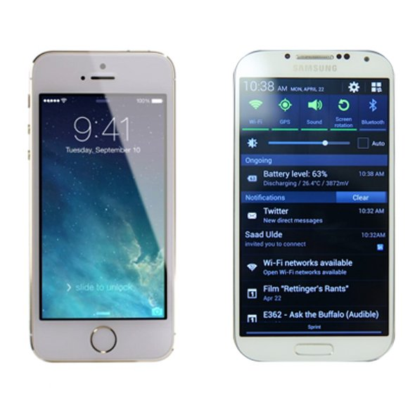 Apple iPhone 5s mi, Samsung Galaxy s4 mü? 1
