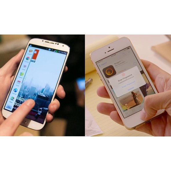 Apple iPhone 5s mi, Samsung Galaxy s4 mü? 2