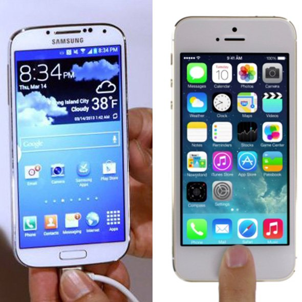 Apple iPhone 5s mi, Samsung Galaxy s4 mü? 3