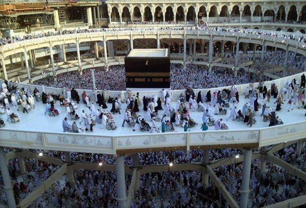 Kutsal topraklarda 130 bin kişilik dev hazırlık 1
