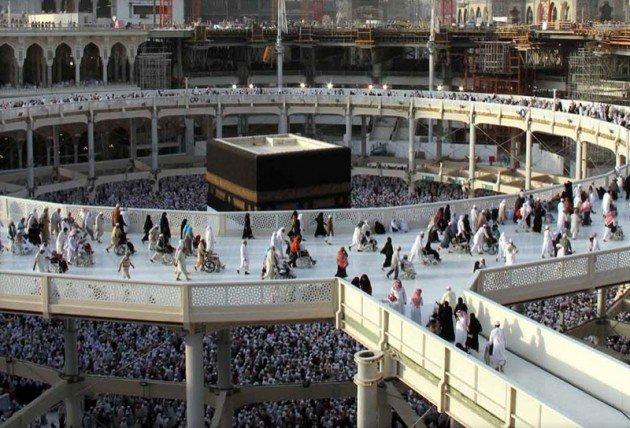 Kutsal topraklarda 130 bin kişilik dev hazırlık 11