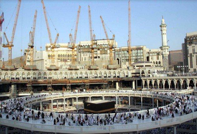 Kutsal topraklarda 130 bin kişilik dev hazırlık 9