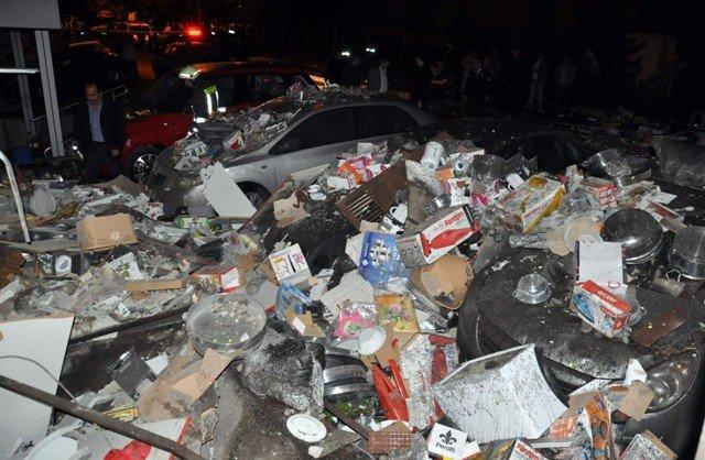 Akşehirde kalorifer kazanı bomba gibi patladı 2