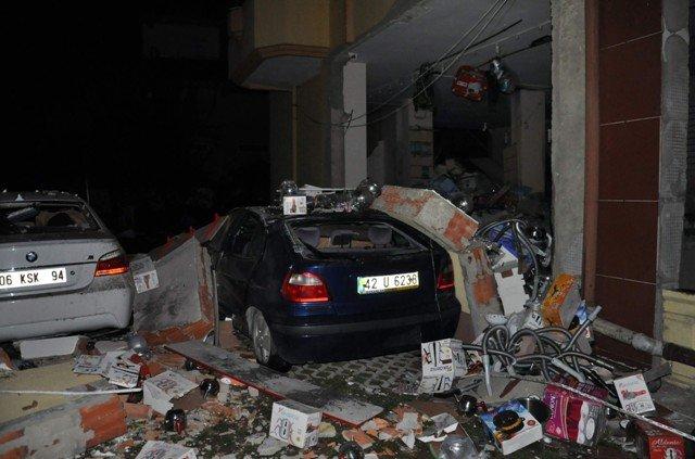 Akşehirde kalorifer kazanı bomba gibi patladı 5