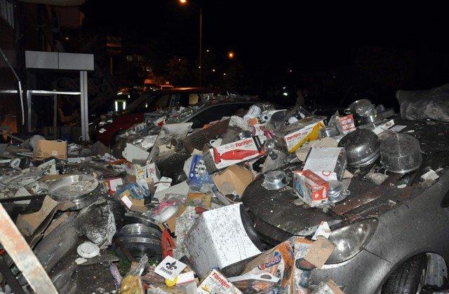Akşehirde kalorifer kazanı bomba gibi patladı 6
