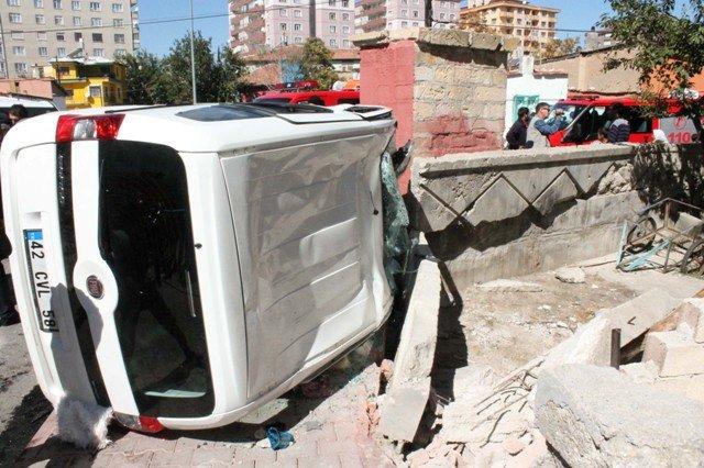 Konyada trafik kazası: 5 yaralı 5