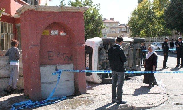 Konyada trafik kazası: 5 yaralı 6