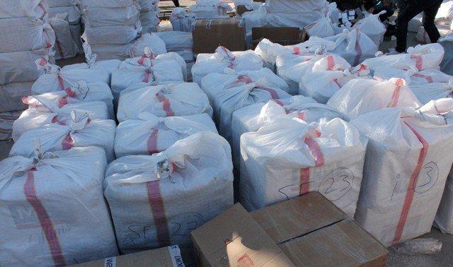 TIRda 1,5 milyon liralık kaçak sigara ele geçirildi 5