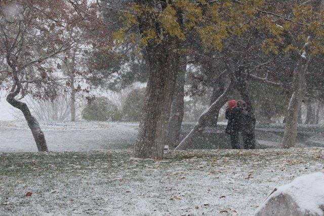 Konyaya yılın ilk karı yağdı 13