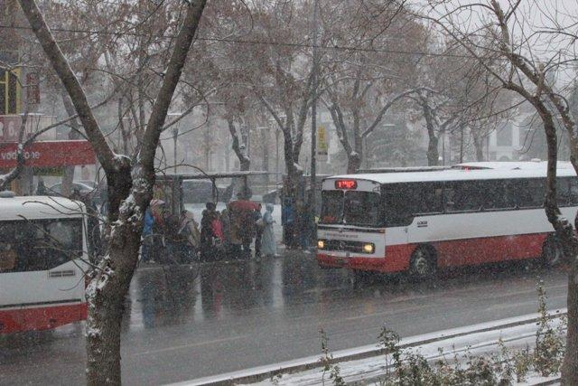 Konyaya yılın ilk karı yağdı 14