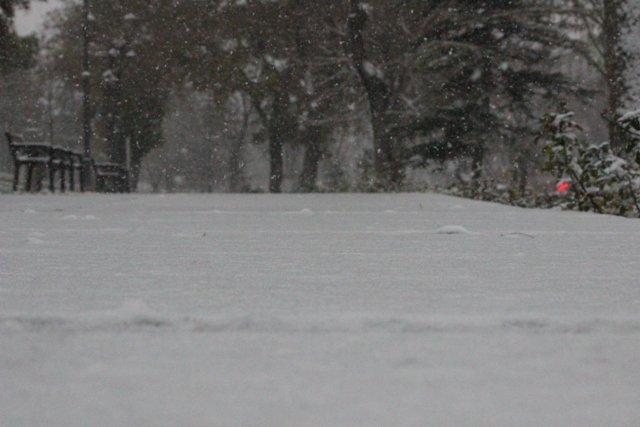 Konyaya yılın ilk karı yağdı 15