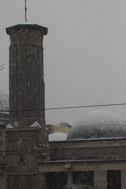 Konyaya yılın ilk karı yağdı 17