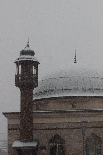 Konyaya yılın ilk karı yağdı 24