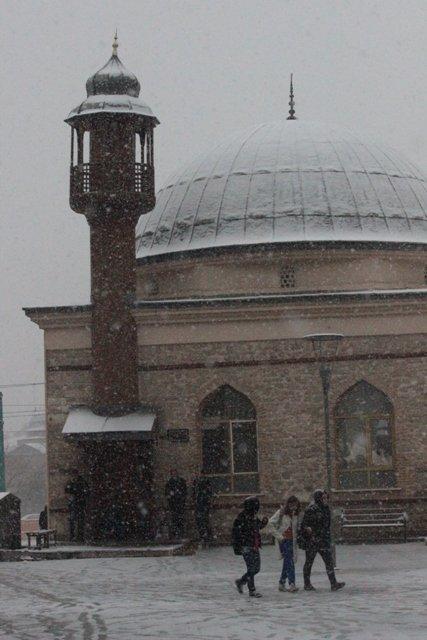 Konyaya yılın ilk karı yağdı 25