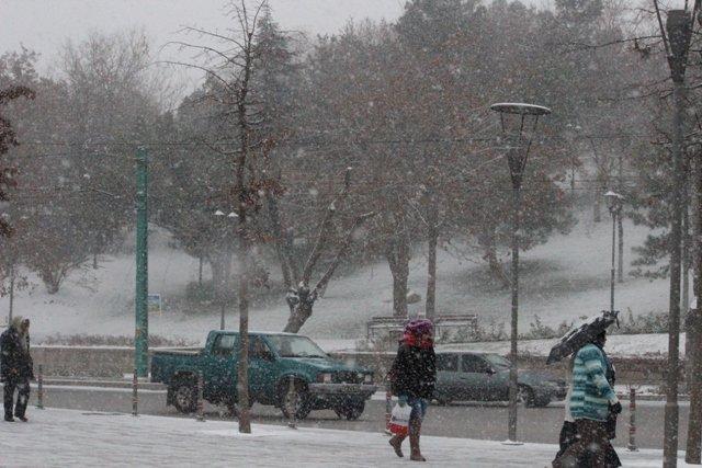 Konyaya yılın ilk karı yağdı 26