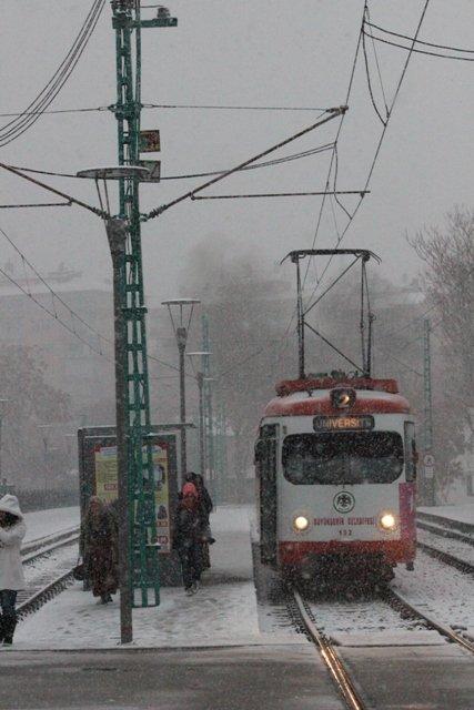 Konyaya yılın ilk karı yağdı 28