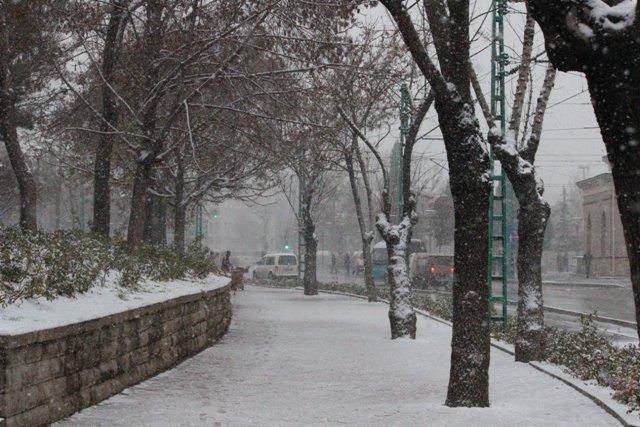Konyaya yılın ilk karı yağdı 4
