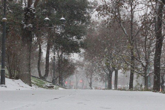 Konyaya yılın ilk karı yağdı 5