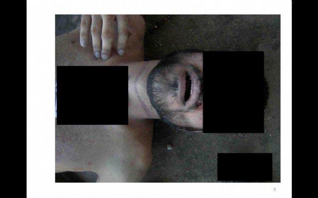 Suriyede insanlık dışı görüntüler 13