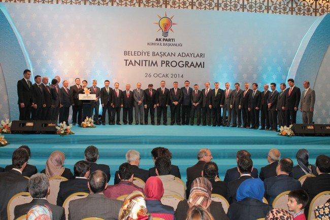AK Parti adaylarını tanıttı 8