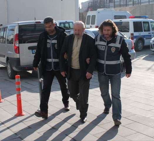 Konyada örgüt liderine baskın: 20 gözaltı 6