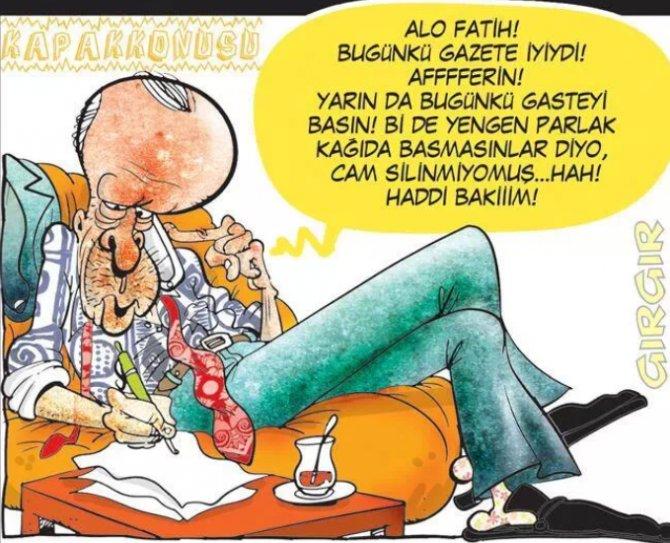 ALO FATİH karikatürleri 8