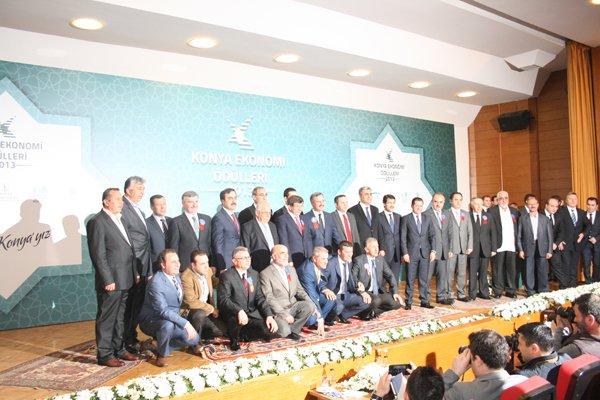 Konya Ekonomi Ödülleri 2013 1