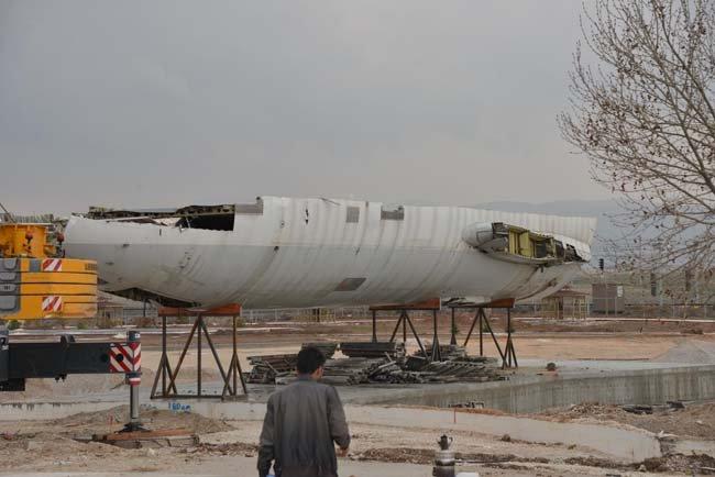 AIRBUS A300 kafeterya olacak 1
