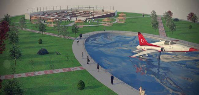 AIRBUS A300 kafeterya olacak 2