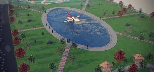 AIRBUS A300 kafeterya olacak 4