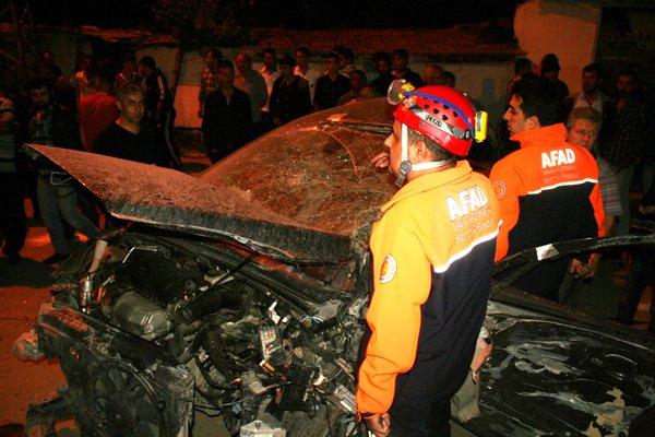 Konyada feci tren kazası! 1