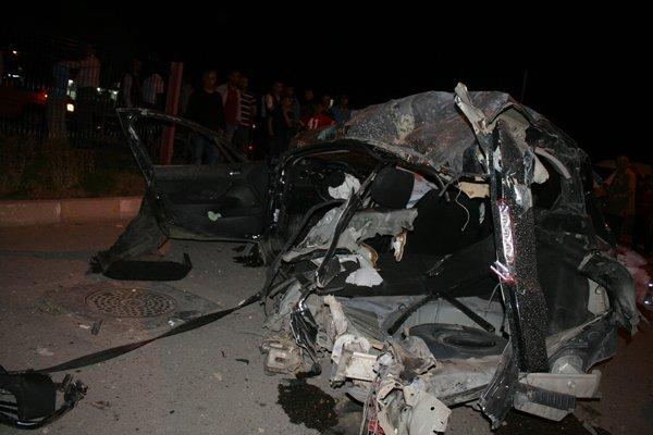 Konyada feci tren kazası! 2