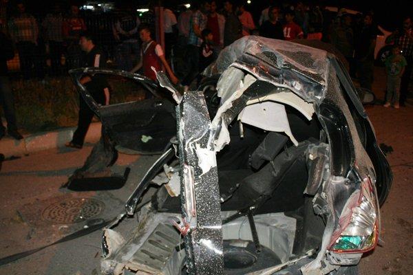 Konyada feci tren kazası! 4