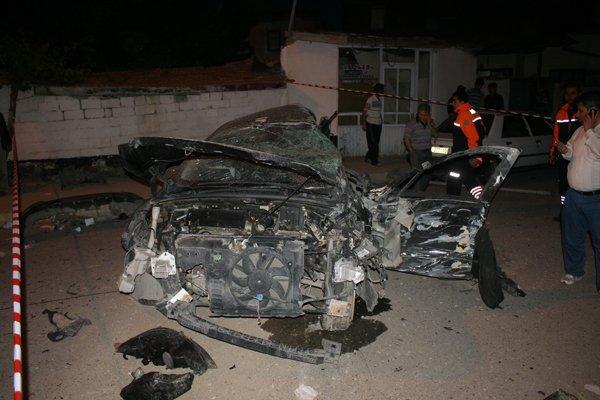 Konyada feci tren kazası! 5