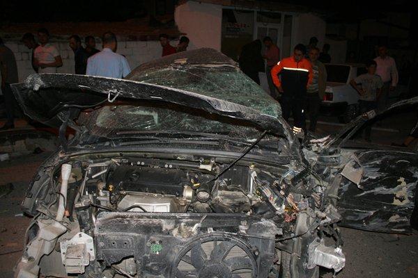 Konyada feci tren kazası! 6