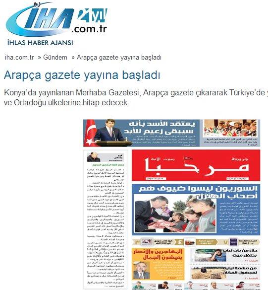 Arapça gazete gündem oldu 5