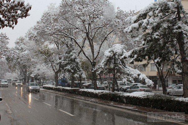 Şehir beyaza büründü 2