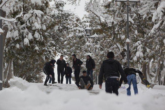 Konya karla buluştu 26