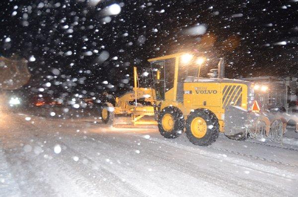 Konyada ulaşıma kar engeli 2