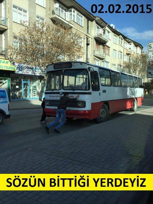 Belediye otobüsleri kazalarla anılıyor 12