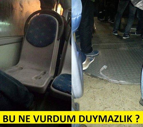 Belediye otobüsleri kazalarla anılıyor 13