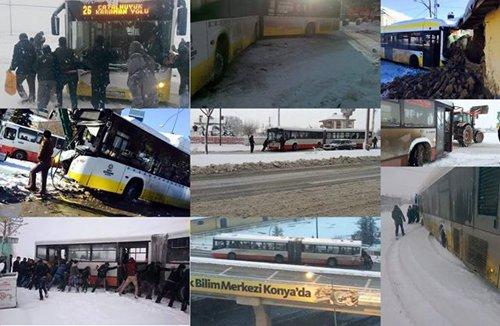 Belediye otobüsleri kazalarla anılıyor 8