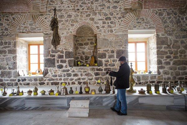 Hürrem Sultanın yaptırdığı hamam müze oldu 10