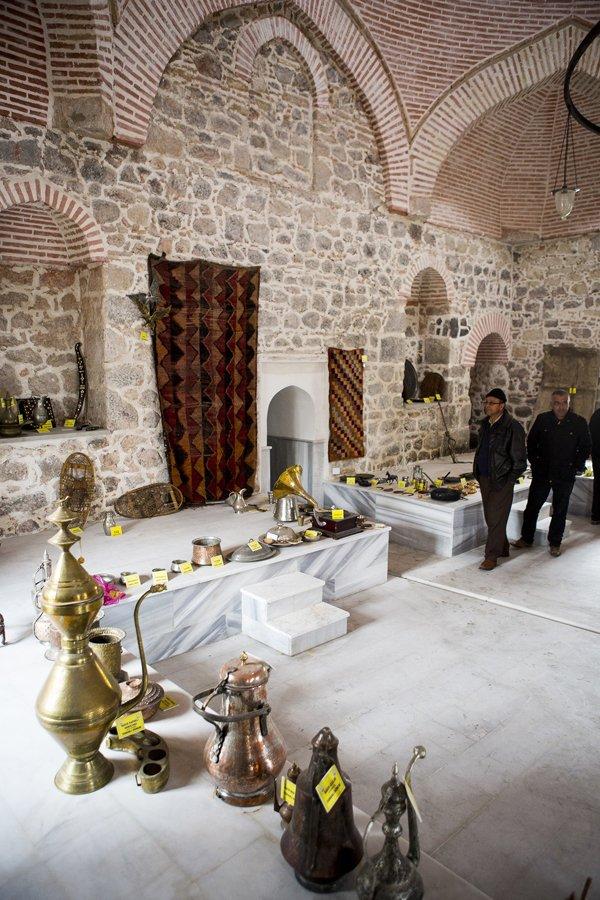 Hürrem Sultanın yaptırdığı hamam müze oldu 13