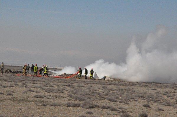 Konyada askeri uçak düştü! 4