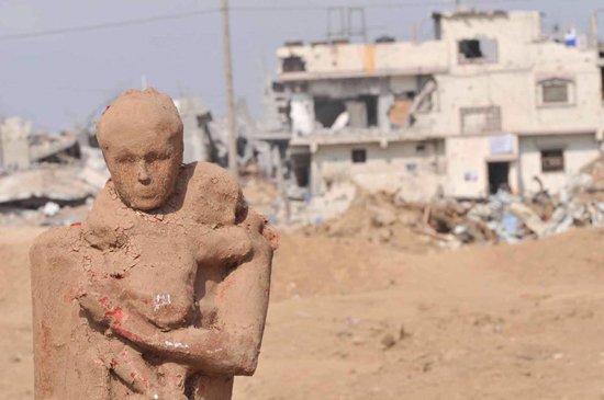 Gazzede savaşa inat sanata devam 10