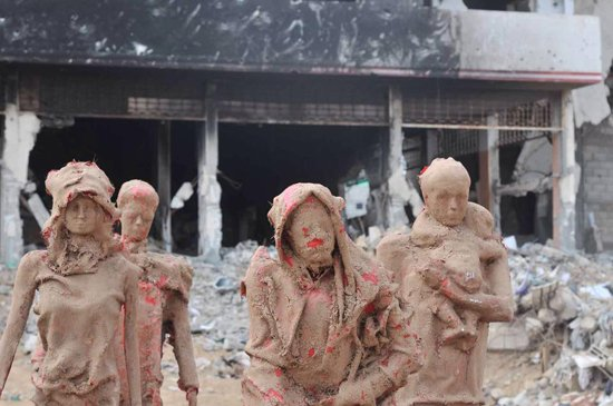 Gazzede savaşa inat sanata devam 11