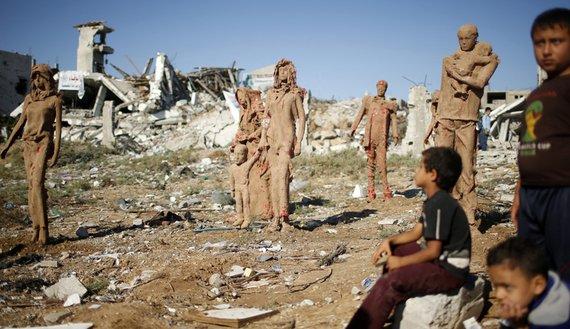Gazzede savaşa inat sanata devam 12